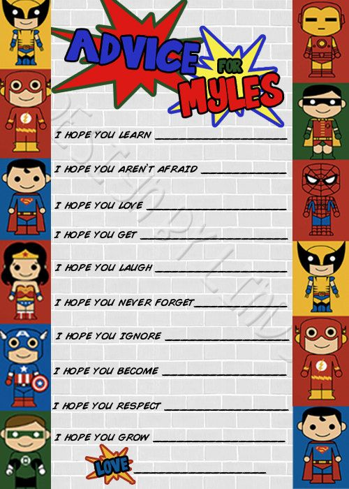 baby shower questions baby shower games superhero baby shower