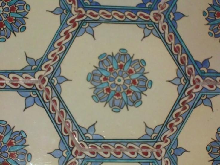 Topkapı Palace tiles-Istanbul