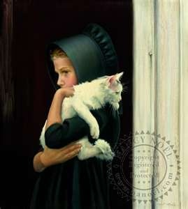 I have this painting and I love it!!!!!!!!!!!!!!!Sarah - Amish - The Sanctuary: The Art of Nancy Noel