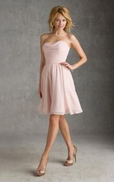 Pink Bridesmaid Dresses UK, Cheap Dresses UK-QueenieBridesmaid