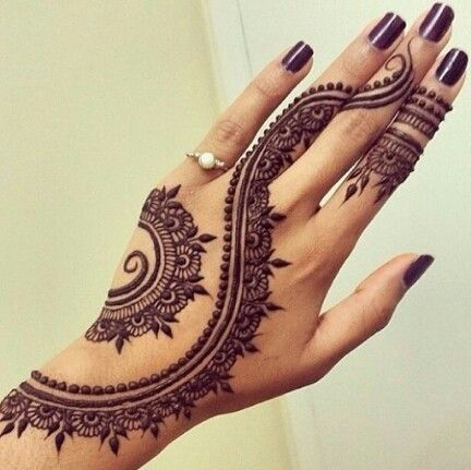 Henna tatoeage - Trouwteam