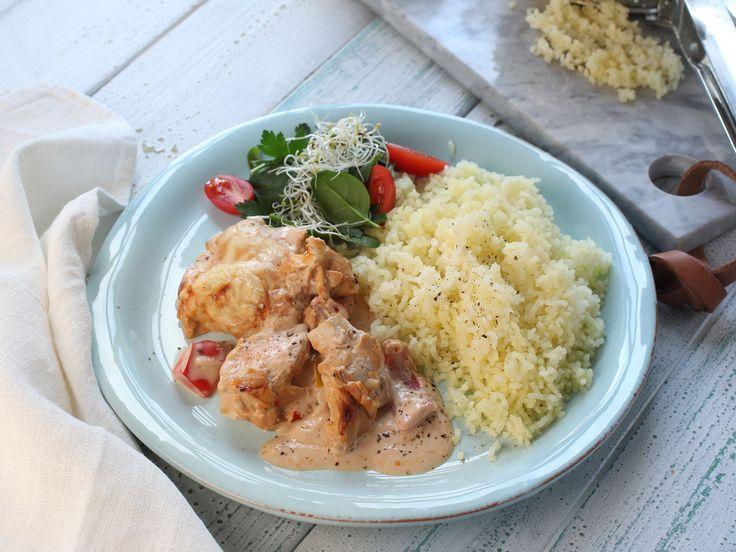 Kycklinglåda med krämig sås | Recept från Köket.se