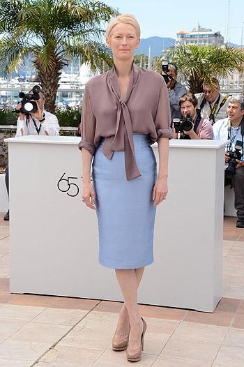 Тильда Суинтон абсолютно прекрасна!  Как всегда, впрочем.