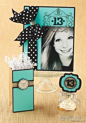 Super cute invitations! Perfect for teenage girl's birthday party.