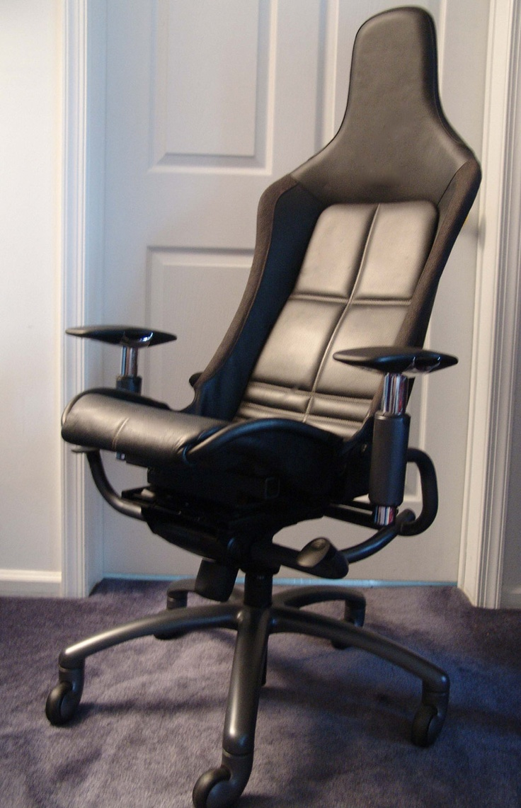 Most comfortable office chair - Racechairs Takes The Seats From Actual Ferraris Lamborghinis Maseratis And Other Exotic Cars Most Comfortable Office Chairdesk