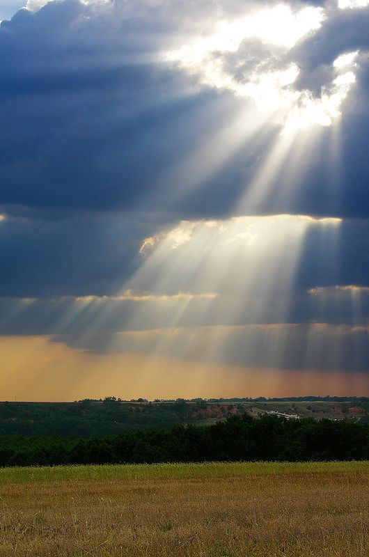 ~~Fingers of God • sun rays  by diez.david~~