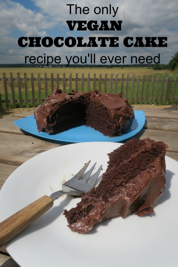 All your friends will be asking for the recipe for this delicious vegan chocolate cake  - and they won't even realise it's vegan!