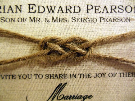17 Best images about Wedding InvitationsSave The Date on – Rustic Wedding Invitations Burlap