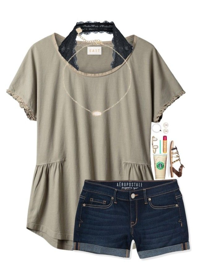 """Going to the orthodontist in Spandex I'm going to vbcamp after"" by breezerw ❤ liked on Polyvore featuring EAST, Aéropostale, Free People, Kendra Scott, Burt's Bees, Isapera and Henri Bendel"