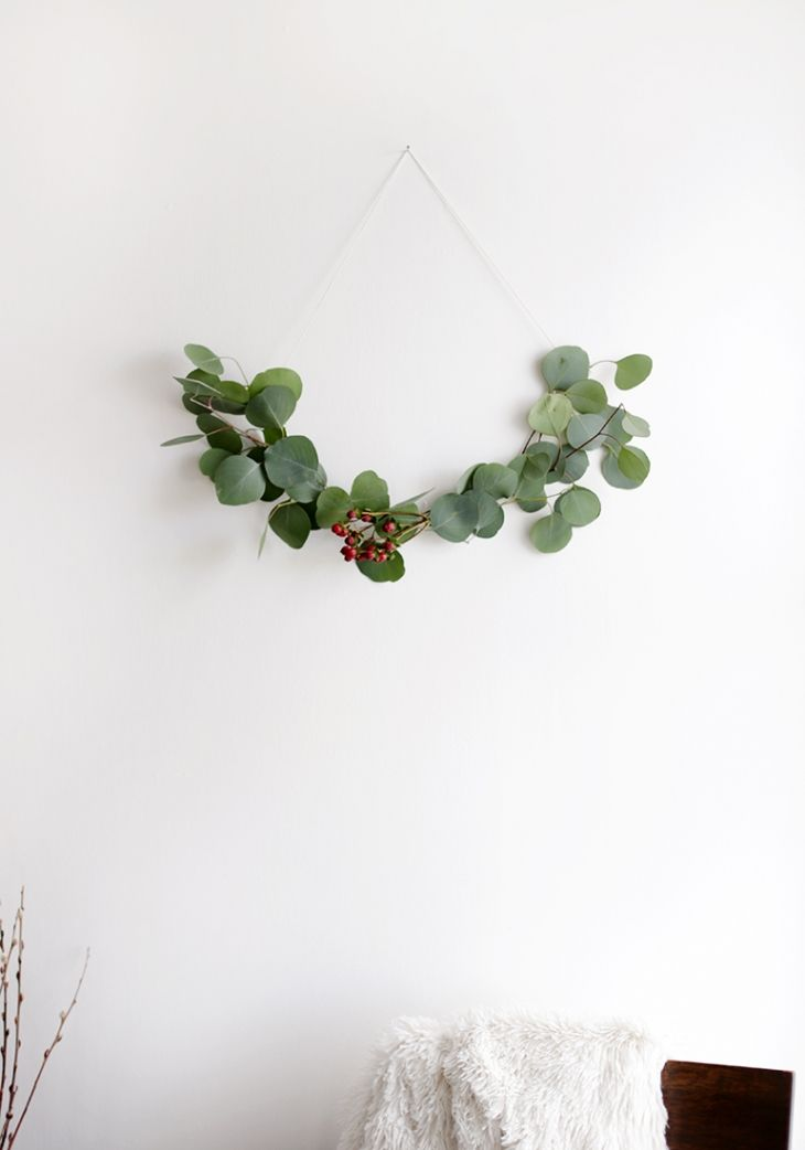 Keep it simple with this DIY wreath