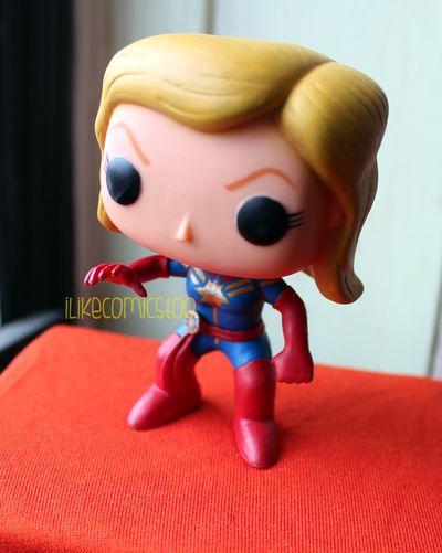 Custom Captain Marvel / Carol Danvers Funko POP! Bobble Head