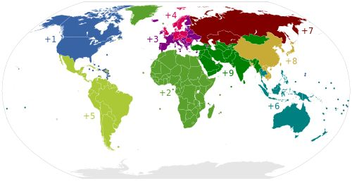 List of country calling codes - Wikipedia, the free encyclopedia