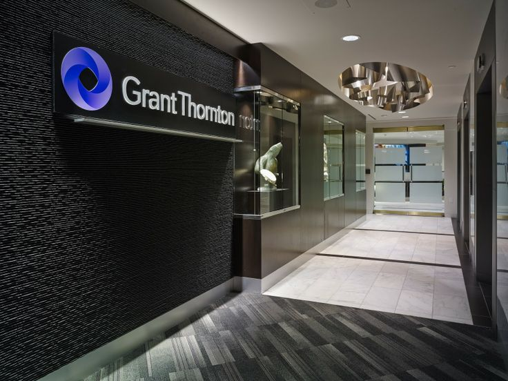 Grant Thorton Interior Office Design