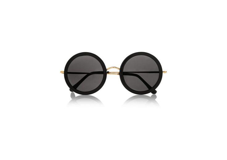 Gafas de sol redondas, de The Row.