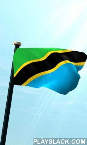 Tanzania Flag 3D Free  Android App - playslack.com , This is a live wallpaper app which shows fluttering flag on your home screen.1. Features- Wind speed changes automatically according to your device's battery level. Flag will flutter much if you have enough battery.- You can open this app by double tapping home screen.- The full version have no ads. It will be helpful if you buy the full version.2. Troubleshooting- Some devices may not work properly at first time.Please try to set this…