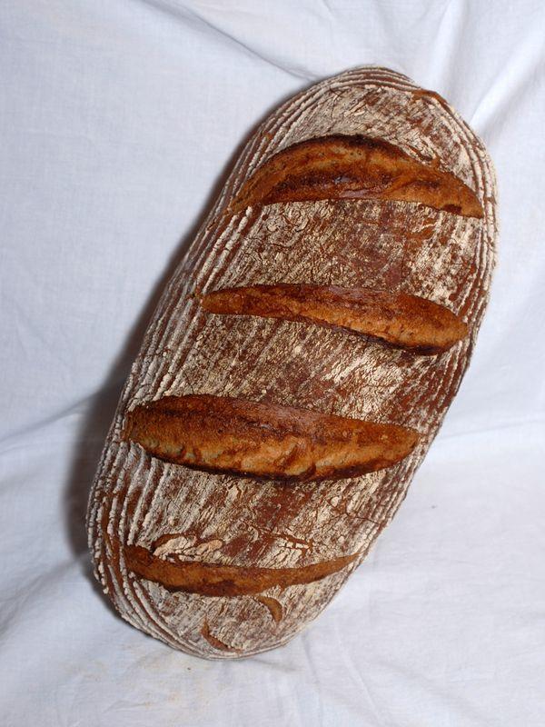 Wahrscheinlich hat jeder, der gelegentlich bäckt auch ein Brot das er immer wieder zubereitet. Mein Hausbrot ist ein Roggenmischbrot, welches nur wenig gewürzt ist. Dezent im Geschmack und mit eine…
