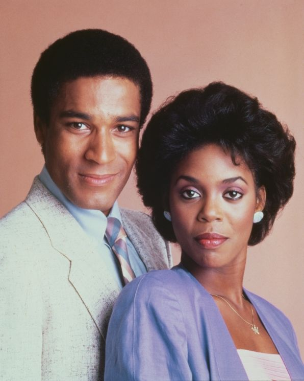 Phil Morris in the role of Tyrone Jackson and Stephanie Williams as Amy Lewis.