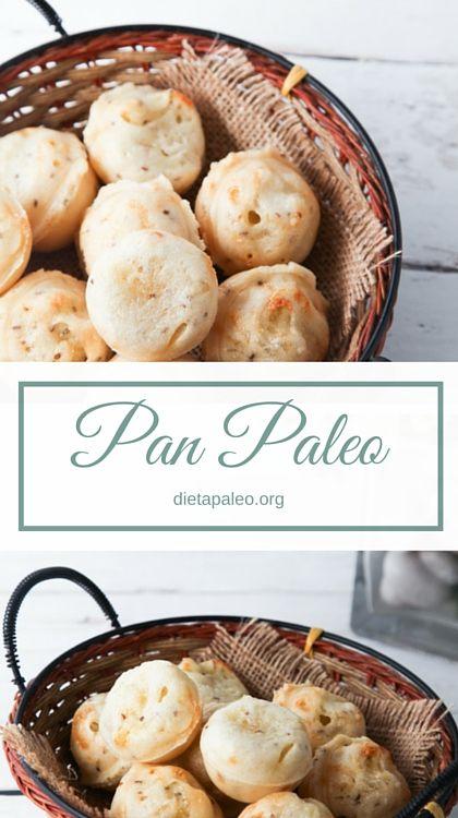 Pan paleo de almidón de mandioca/yuca (harina de tapioca). Menos de 5 ingredientes y super facil de preparar