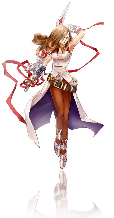 Beatrix from Final Fantasy IX -she is one of my fav characters,though you only get to use her once. Beatrix is awesome
