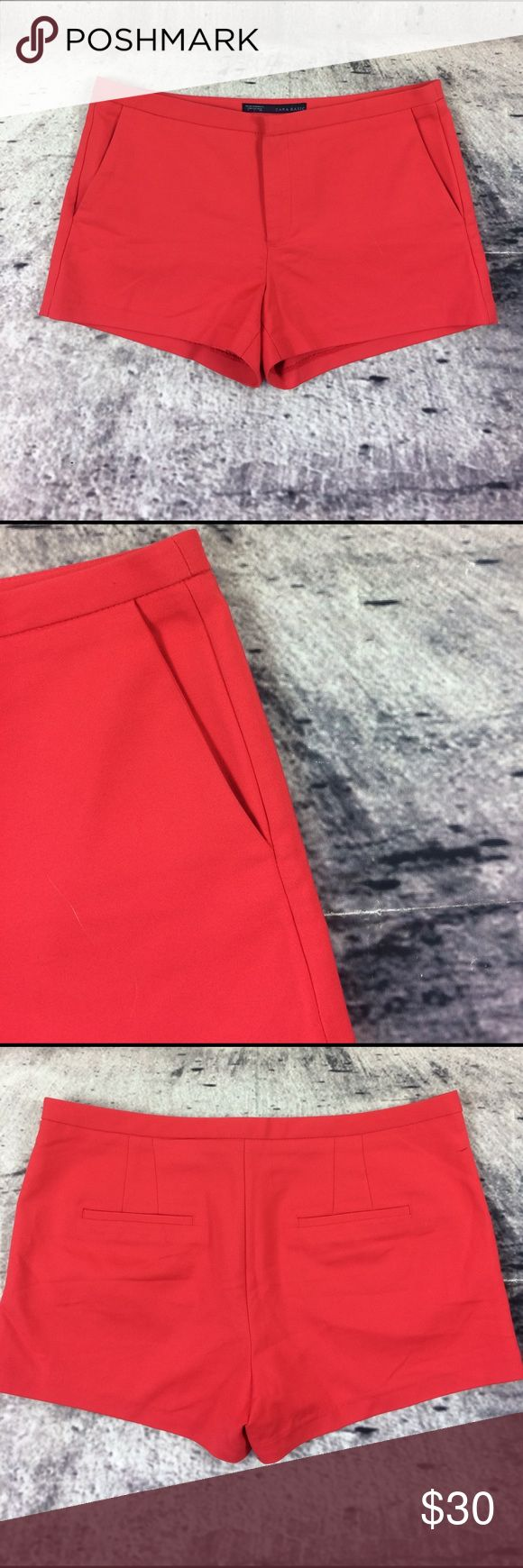 """Zara shorts Zara shorts cotton polyester and spandex blend inseam 3""""rise 9.5"""" Zara Shorts"""