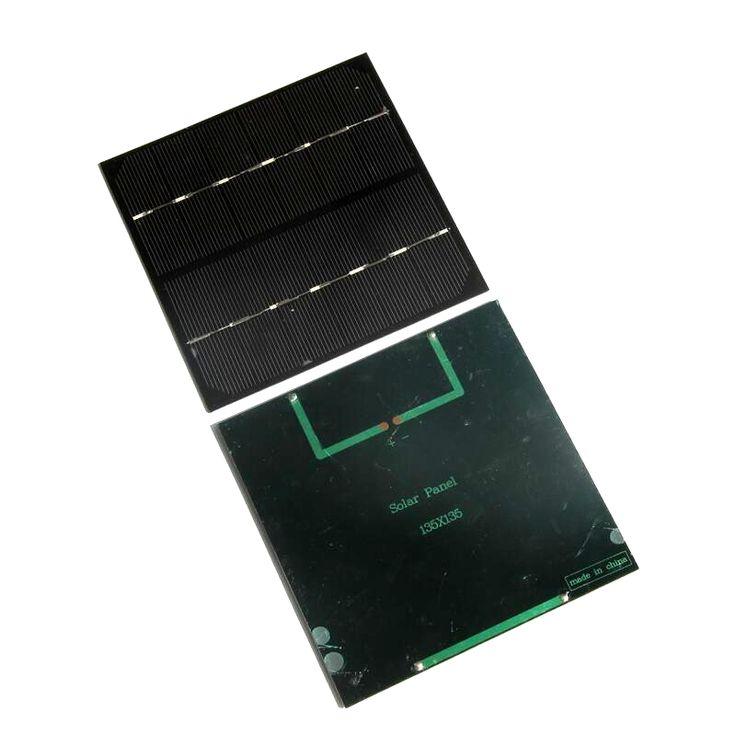 BUHESHUI High Quality 2.8W 6V Polycrystalline Small Solar Panel Mini Solar Cell Education Kits DIY Solar Toys/System 135*135MM