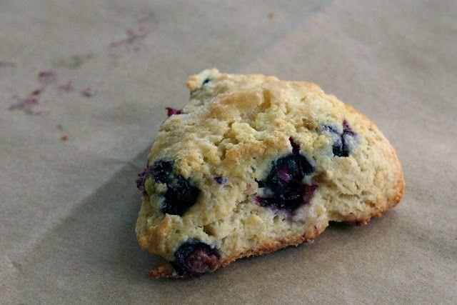Starbucks' Blueberry Scones recipe. These are AMAZING