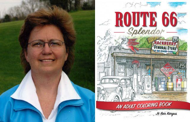Route 66 Travelers : Jo Ann Kargus - Künstlerin und Grafikerin