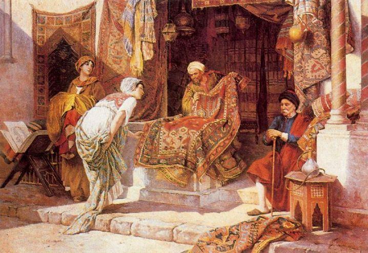 The Carpet Seller Halı Italian Painters The O Jays
