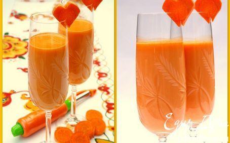 Морковный коктейль | Кулинарные рецепты от «Едим дома!»