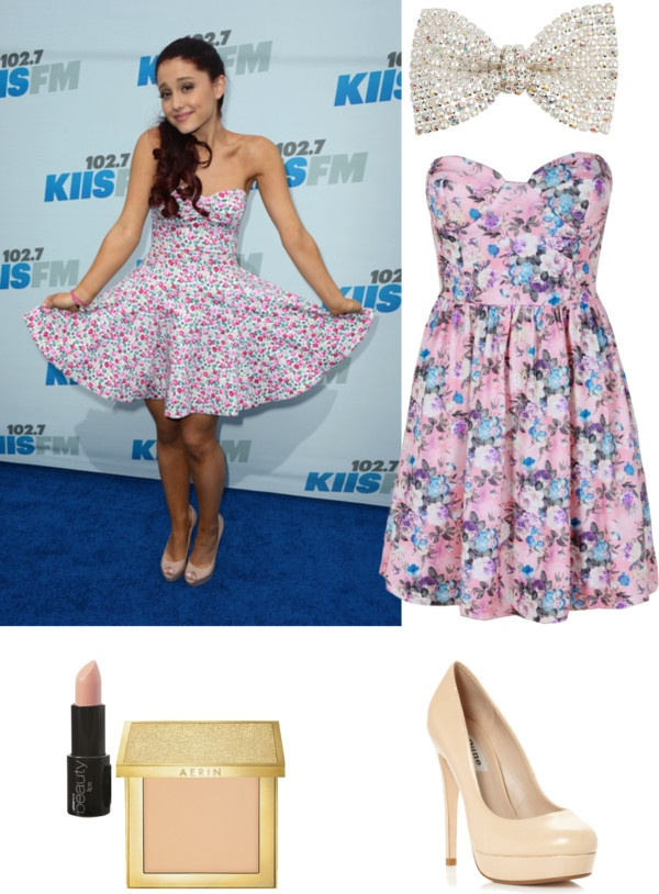 Ariana Grande Style By Blondethinking Liked On Polyvore Fashion Pinterest Ariana Grande