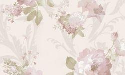Tapet vinil roz crem floral 1204 Cristina Masi Carlotta