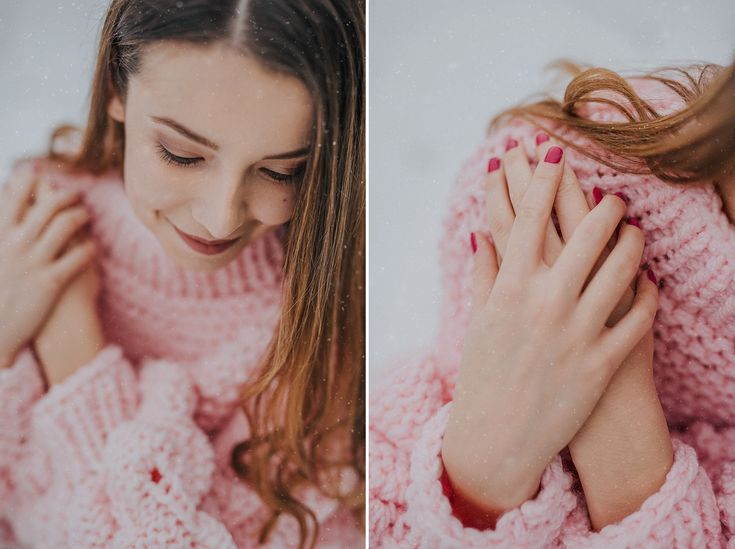 womens handknit pink sweater with bubble sleeves, vor sell on etsy