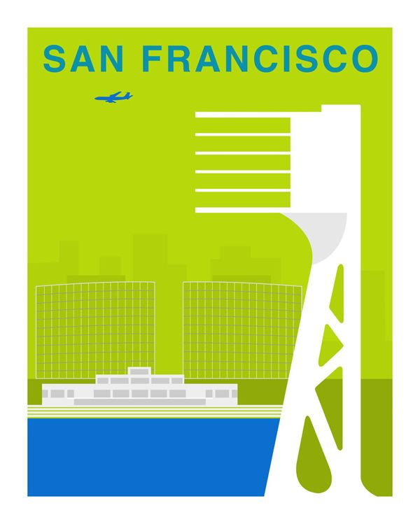 Best Art Of San Francisco Images On Pinterest Modern Posters