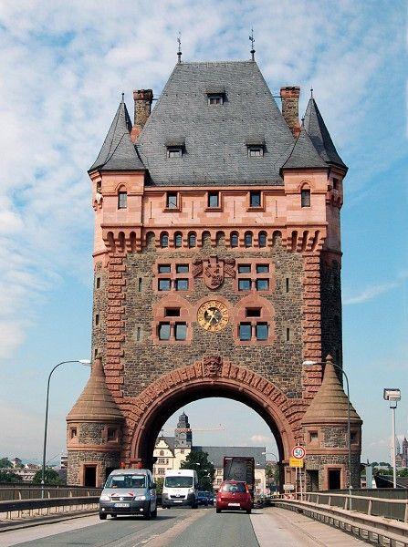 Nibelung Bridge Worms Rhineland Palatinate Germany 2008