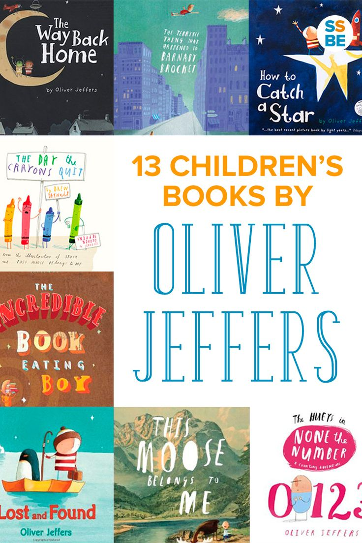 My kids are huge fans of Oliver Jeffers—check out our favorite 13 children's books by Oliver Jeffers, from The Day the Crayons Quit to How to Catch a Star. From @ssbeblog