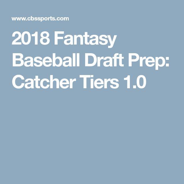 2018 Fantasy Baseball Draft Prep: Catcher Tiers 1.0
