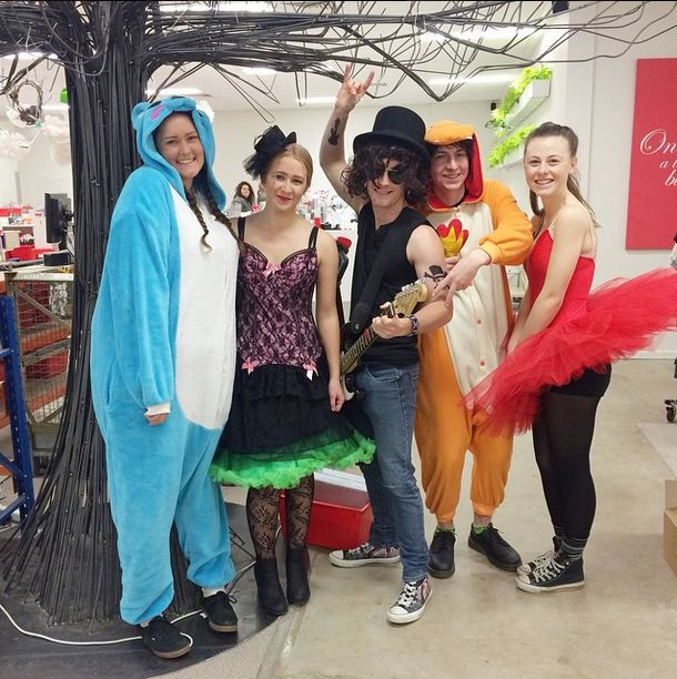 Today our birds are celebrating our Dance Together value by dressing up as things that make us feel happy! We will keep sharing our #birdsnesthappysnaps throughout the day! Here are our trainees! They look amazing! #birdsnestonline #dressup