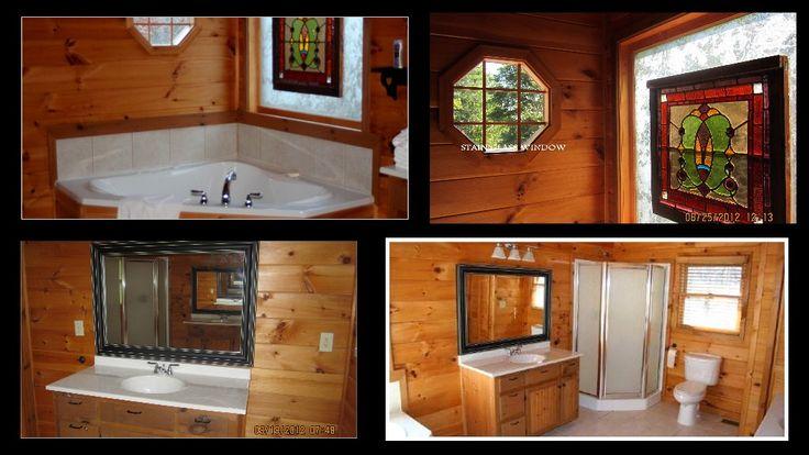 большой мастер ванна с отдельной душевой кабиной, 2 отдельные раковины, Гидромассажная ванна в саду,