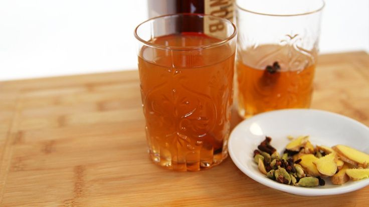 Hot Hybrid! Chai Spiced Cider: Two of the most popular hot beverages during the brisk Fall and Winter months have to be chai tea lattes and hot apple cider, and this recipe creates a hybrid of the two drinks.