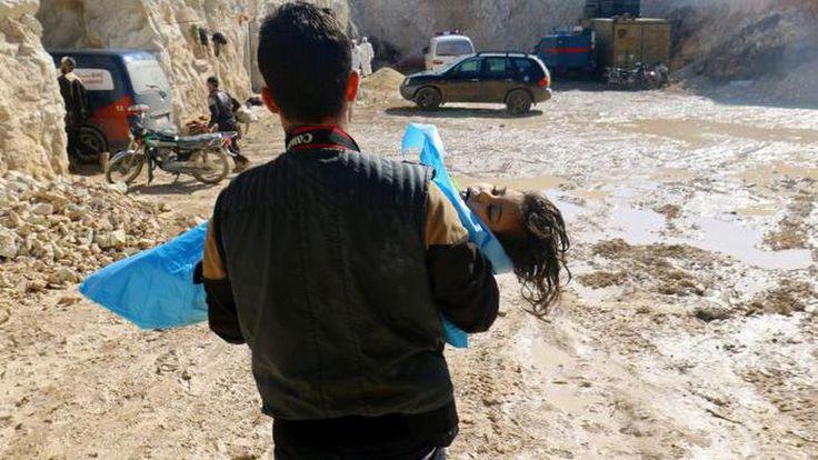 Ini Fakta Serangan Gas Sarin Yang Membantai Anak-anak Suriah - Equityworld Futures