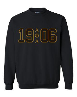 Alpha Phi Alpha sweatshirt