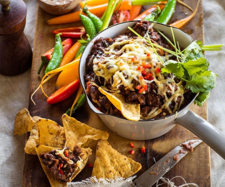 Hot chipotle bean dip By Nadia Lim