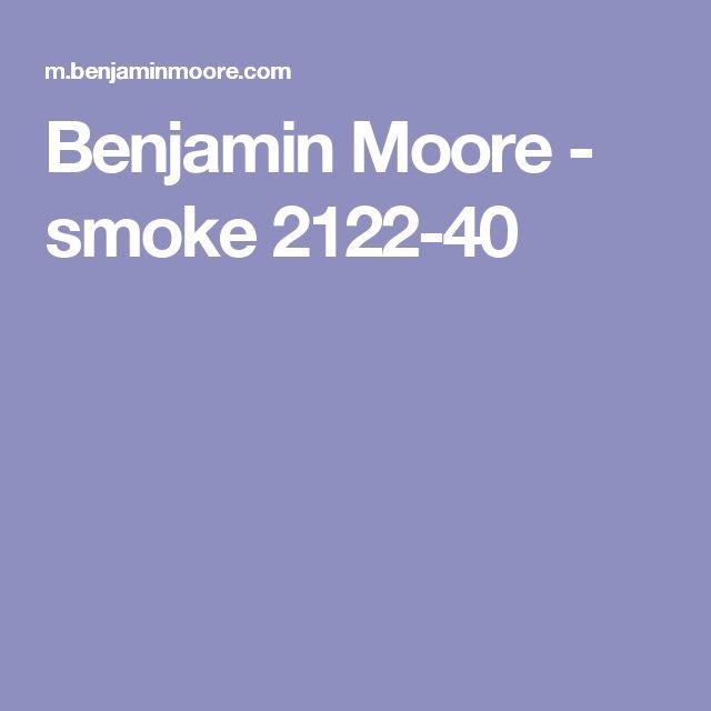 Benjamin Moore - smoke 2122-40
