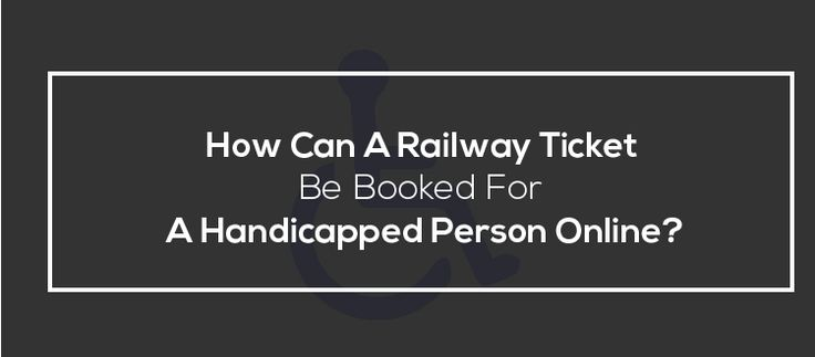How Can A Railway Ticket Be Booked For A Handicapped Person Online?  |  विकलांग व्यक्ति के लिए रेलवे टिकट कैसे बुक किया जा सकता है?  http://irctchelpline.com/how-can-a-railway-ticket-be-booked-for-a-handicapped-person-online/  For more details and helpful article on Indian railway and IRCTC,  Like our page: https://www.facebook.com/irctchelpline  #IRCTC #IndianRailway