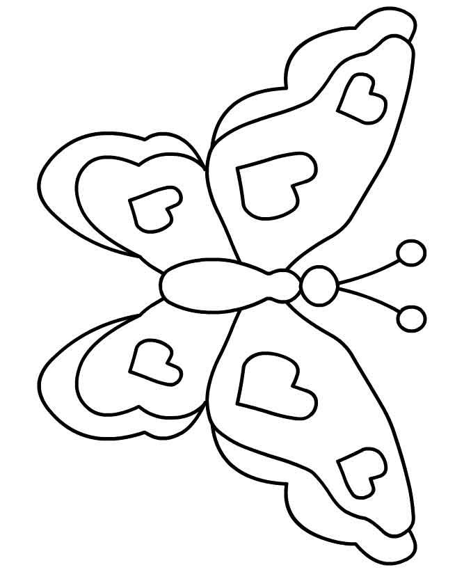 Moldes para mariposas Colouring Pages (page 2)