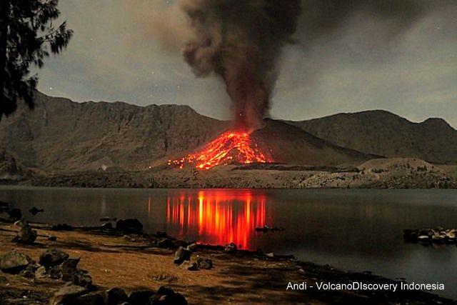 Volcanic activity worldwide 7 Dec 2015: Bromo volcano, Rinjani, Telica, Momotombo, Etna