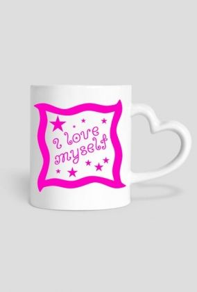 I Love Myself: heart-shaped mug #selflove #confidence #selfesteem #loveyourself #lovemyself #mugs You can buy it with the print on one side: https://blibli.cupsell.com/product/2663998-product-2663998.html on the other side: https://blibli.cupsell.com/product/2664001-product-2664001.html or on both sides: https://blibli.cupsell.com/product/2664000-product-2664000.html And here you can find other merchandise with this design: https://blibli.cupsell.com/k/i-love-myself