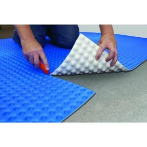 DMX 1-STEP, 100 sq. ft. 44 in. x 27 ft 6 in. Unique Air Gap Underlayment Prevents Mold, DMX 1-Step at The Home Depot - Mobile