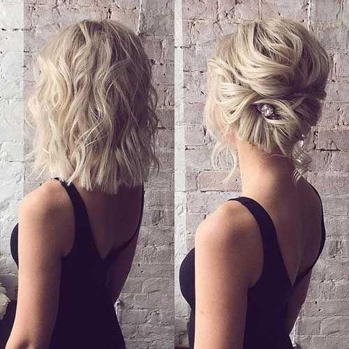 15 Hochsteckfrisur Frisuren für Kurze Haare-Alter…