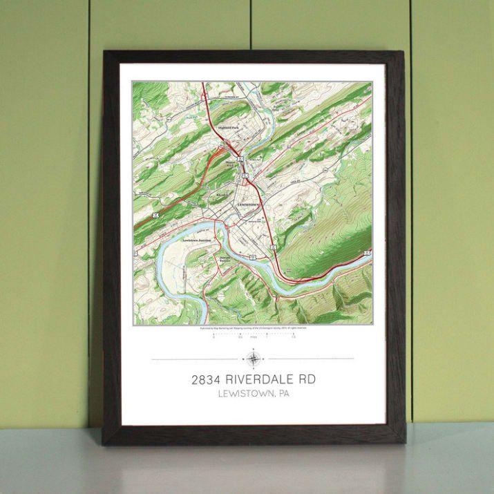 Address Map Print